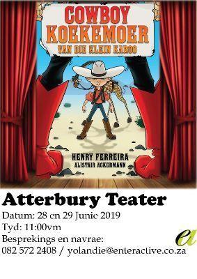 Cowboy Koekemoer by Atterbury teater